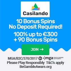 Casilando 100 free spins